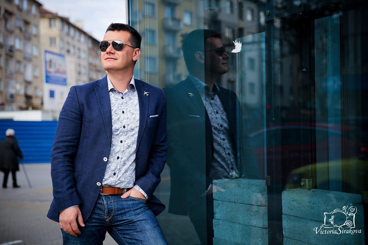 Марио Бакалов снимка Victoria Sirakova