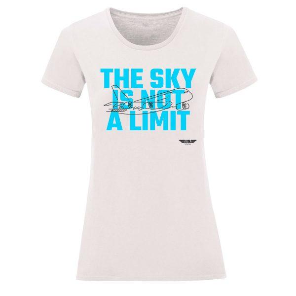 Дамска тениска бяла Sky lover