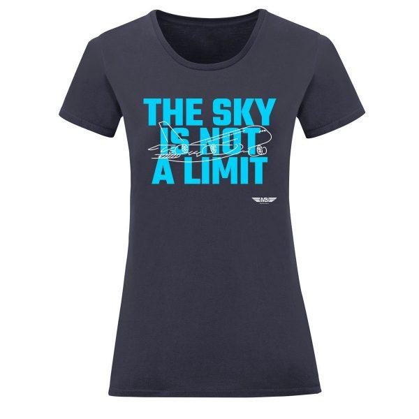 Дамска тениска тъмносиня Sky lover