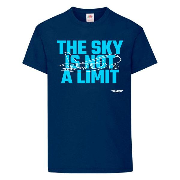 Детска тениска тъмносиня Flying kid 2