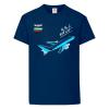 Детска тениска тъмносиня Flying kid 1