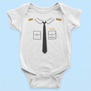 Бебешко боди Baby Pilot