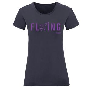 Дамска тениска тъмносиня Flying 2