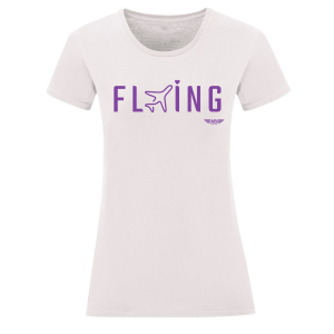 Дамска тениска бяла Flying 2