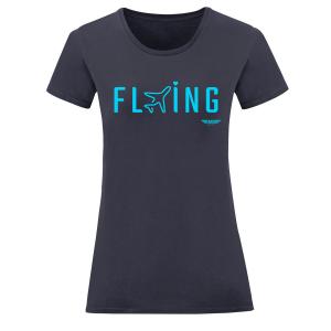Дамска тениска тъмносиня Flying