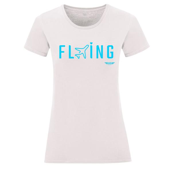 Дамска тениска бяла Flying