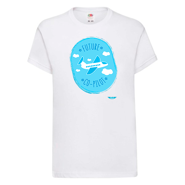 Детска тениска за момчета бяла