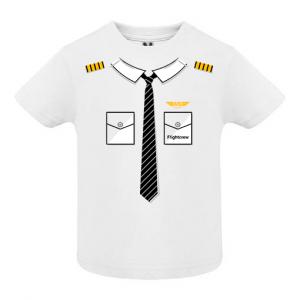 Бебешка тениска baby pilot